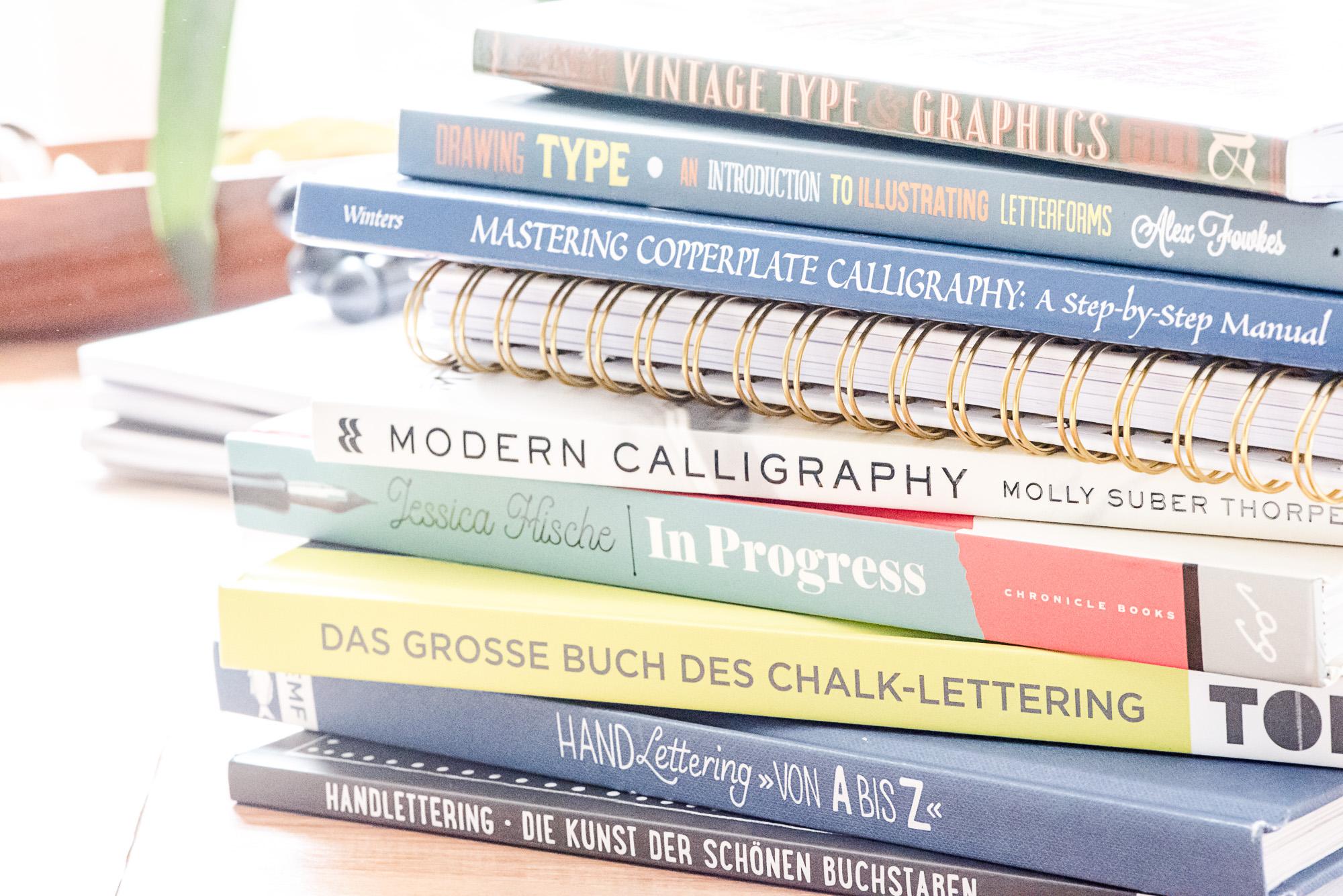 Lettering_lernen Bücher