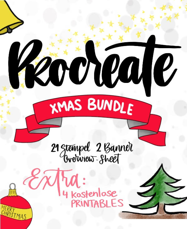 Procreate Brushes Xmas Bundle - Wild Hippie Studio