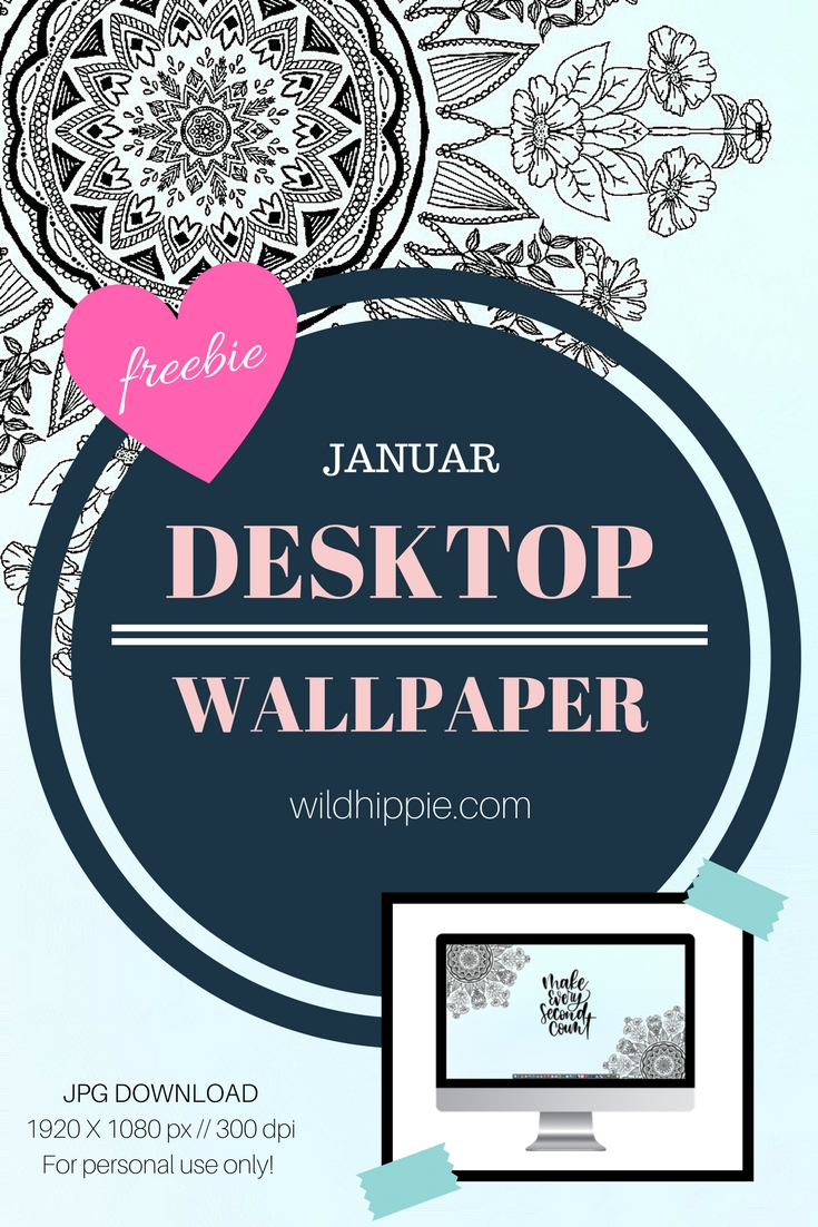 Januar Desktop Wallpaper Pinterest - Wild Hippie Studio